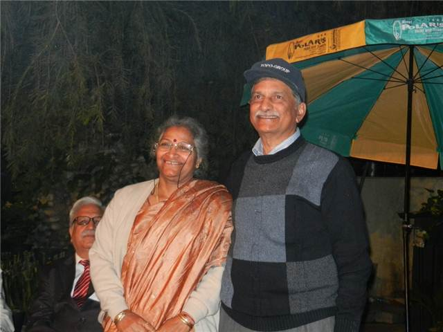 11 Anant K Pant and Abha, Bhimtal